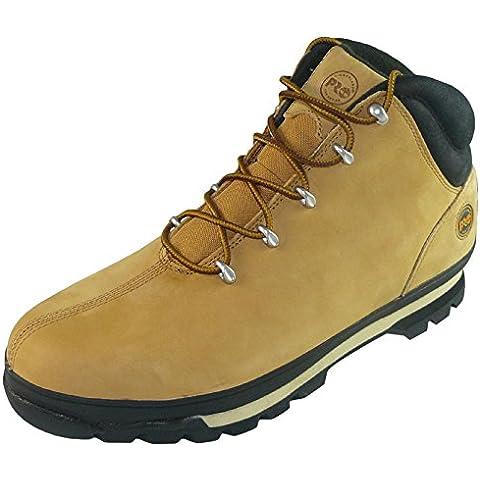 Timberland Pro, in pelle, 8 Splitrock Rating S3 Stivaletti antinfortunistici con punta in acciaio uomo, colore grano