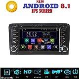 ANDROID 7.1 GPS DVD USB SD WI-FI Bluetooth autoradio 2 DIN navigatore Audi A3 / Audi S3 2002, 2003, 2004, 2005, 2006, 2007, 2008, 2009, 2010, 2011