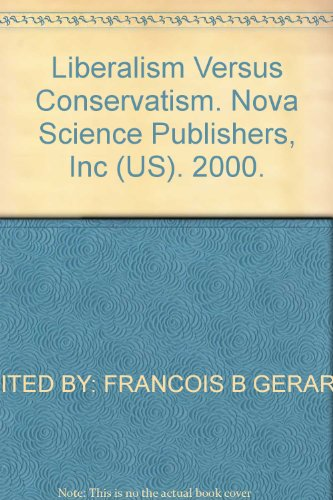 Liberalism Versus Conservatism: A Bibliography with Indexes