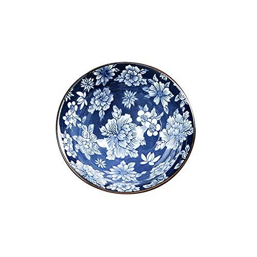ssen Hand bemalt blau und weiß Porzellan Keramik Tassen Tee Vintage chinesische Schriftzeichen Keramik Elegantes Geschenk-Set ()