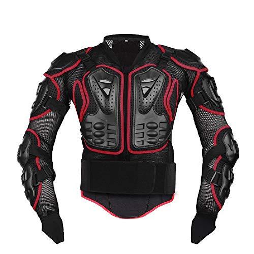 awhao Armatura Moto Protezione di Motocross Giacca Moto Corpo Indumenti di Protezione Completa Moto Professionale Sportivo per Donna Uomo Adulto Spina Dorsale Motociclista First-Rat