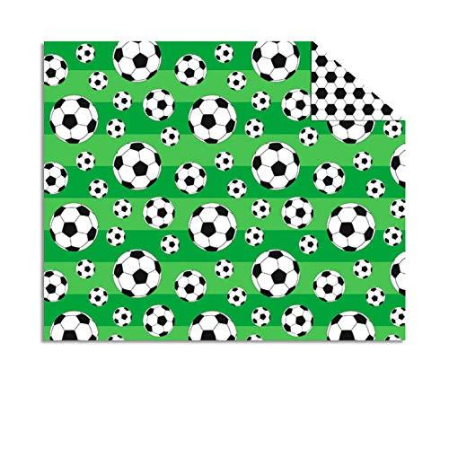 Kreativpapier - Bastelkarton - Fotokarton Fussball Bälle - DIN A4 / 300 g