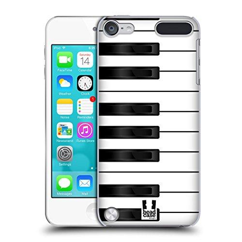 Ipod Klavier-hülle Für 4 (Head Case Designs Klavier Schlüssel Ruckseite Hülle für iPod Touch 5th Gen / 6th Gen)