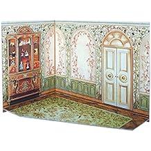 Clever Paper - Puzzles 3D Salón de té de casa de muñecas, serie Rumboksy (142912)