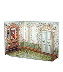 CLEVER PAPER Puzzles 3D Salón de té de casa de muñecas, Serie Rumboksy 142912