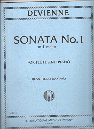 Sonata No. 1in E Major for Flute and Piano (Jean-Pierre Rampal)