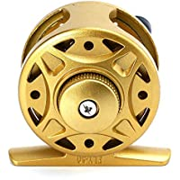 KILLYSUFUFY 1 + 1BB Ice Flying Raft Fishing Fly Carrete de Pescado Wheel Fly Spinning Fishing Reel Fly Verano y Centron Spinning Reels Fly BB Peso Ligero Ultra Smooth Potente