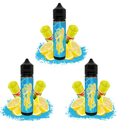 Set E Liquid Calipo Limon   Sin Nicotina   3 Botes
