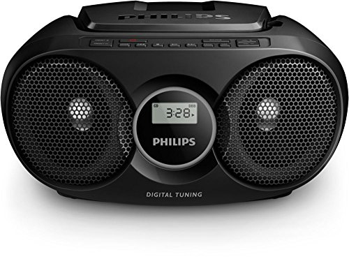 Philips AZ215B/12 - Radio portátil con CD (3 W, sintonizador digital), color...