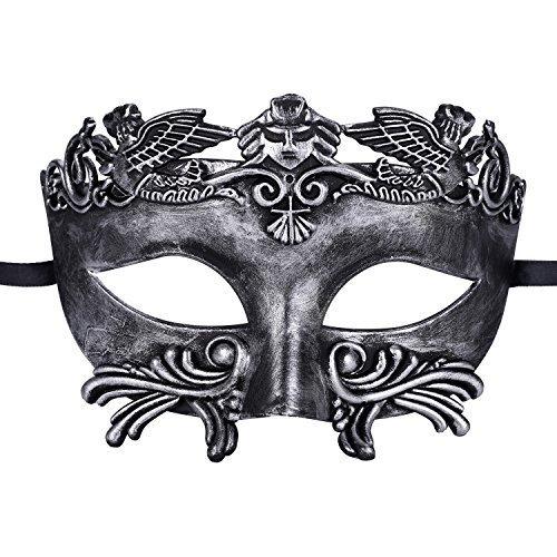 Kapmore Mens Maskerade Maske Griechische Partei Maske Karneval Maske Antikes (Kostüm Römischen Herren)
