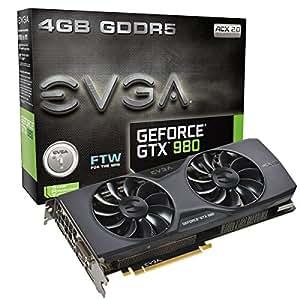 EVGA GeForce GTX 980 FTW ACX 2.0 NVIDIA GeForce GTX 980 4GB