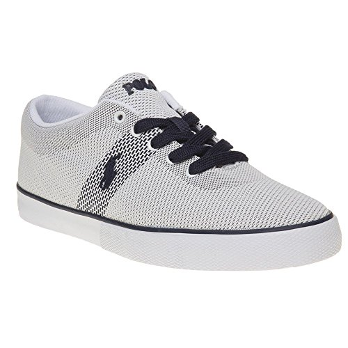 Polo Ralph Lauren Halford Homme Baskets Mode Blanc