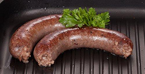 Waldfurter Premium: Semmelwurst Wellwurst dunkel 0,8 Kg | Ohne Zusatzstoffe! nur Pökelsalz | Schlesische Lebensmittel | Kühlversand