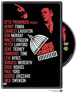 Advise & Consent [DVD] [Region 1] [US Import] [NTSC]