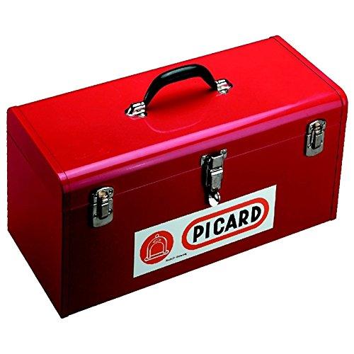 Picard 0070092-000 Werkzeugkoffer aus Blech, rot