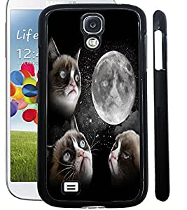 ColourCraft Funny Cat Design Back Case Cover for SAMSUNG GALAXY S4 I9500 / I9505