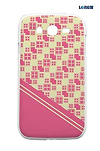 Lorem Back Cover For Samsung Galaxy Grand (i9082)-Multicolor-L13322