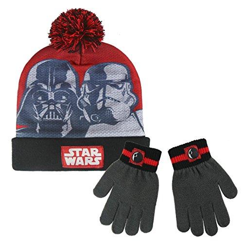 Conjunto gorro guantes Star Wars Disney 7e28e08b93a