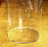 KUS Kunststofftechnik Plexiglas Plexiglasrohr XT ø 90/84 mm, L = 1000 mm mit verklebten Boden