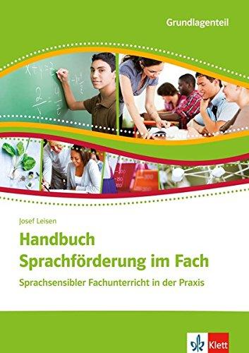 Handbuch Sprachförderung im Fach. Sprachsensibler Fachunterricht in der Praxis. 2 Broschuren im Schuber Fach -