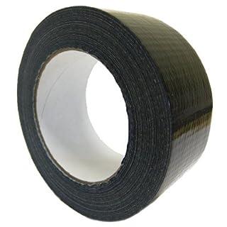 All Trade Direct 1 X Black Gaffer 50Mm X 50M Waterproof Adhesive Cloth Duct Tape Gaffa Duck Tank