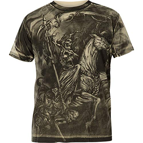 Xtreme Couture by Affliction T-Shirt Dark Horse Grau, M - Affliction T-shirts