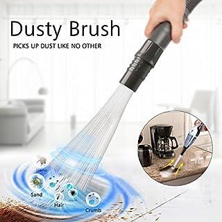 As Seen On TV Dusty Brush- Bürste Reinigungspinsel Staubsaugen,Vacuum Attachment Cleaning Tools,Reinigungswerkzeuge für Air Vents, Tastaturen, Schubladen, Auto, Werkzeuge, Kunsthandwerk, Schmuck