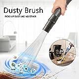 As Seen On TV Dusty Brush Spazzola di pulizia pennello applicando, Vacuum Attachment Cleaning Tools, Strumenti di pulizia per prese d' aria, tastiere, cassetti, Auto, attrezzi, artigianato, gioielli