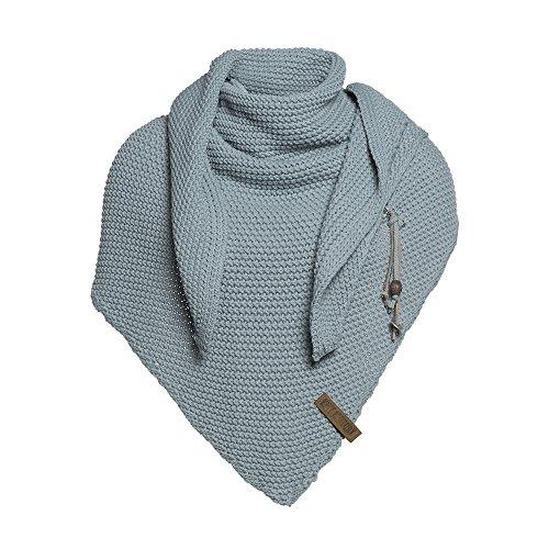 Knit Winter-schal (KNIT FACTORY Umhängetuch COCO stone green)