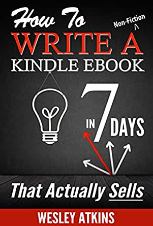 How to write an ebook in 7 days