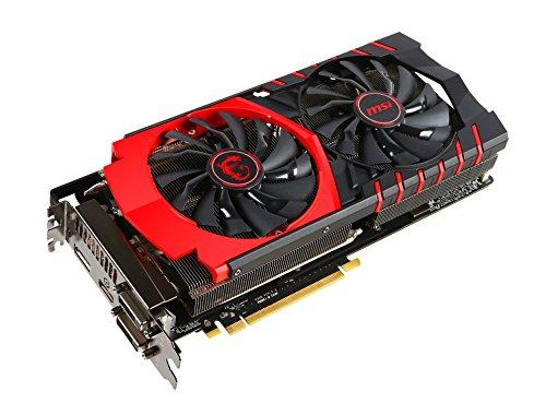 MSI V308-041R AMD Radeon R9 390 Gaming 8G Grafikkarte (PCI-e, 8GB GDDR5 Speicher, DVI, HDMI, DisplayPort)