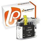 Bubprint Druckerpatrone kompatibel für Brother LC-223 LC-225 LC-227 für DCP-J4120DW DCP-J562DW MFC-J4420DW MFC-J4620DW MFC-J480DW MFC-J5320DW Schwarz