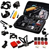 Navitech 30 in 1 Action Kamera Zubehör Combo Kit kompatibel mit der GitUp Gitup Git2 Novatek 96660 1080P WiFi 2K Sport Helemet Camera
