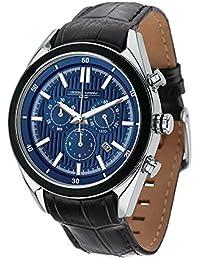 Jorg Gray Herren-Armbanduhr Chronograph Quarz Leder JG9600-22