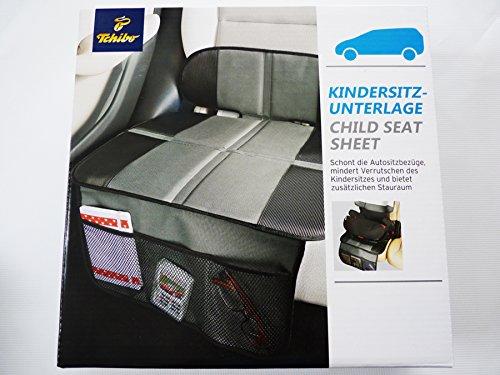 Preisvergleich Produktbild TCM Tchibo Kindersitz Unterlage Sitzschoner Schoner inkl. Fächer Sitz Auflage