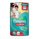 #1: Pampers Extra Large Size Diapers Pants (60 Count)