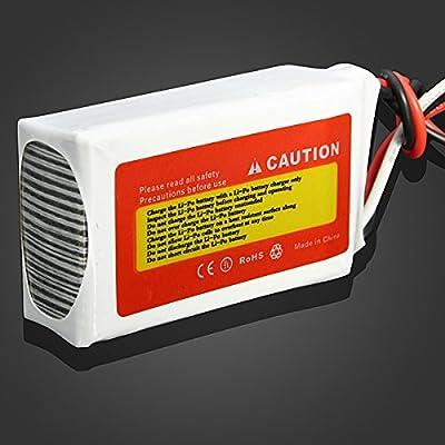 Bluelover ZOP Power 7.4V 1000mAh 25C Lipo Battery JST Plug