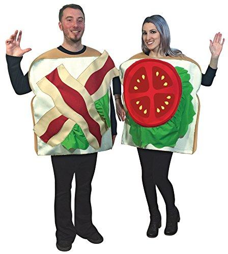 Adult Fancy dress costume Standard (Sandwich Kostüme Erwachsene)