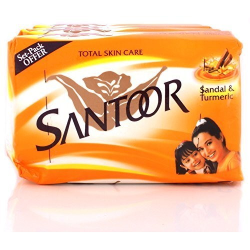 Santoor Soap with Sandal And Turmeric