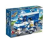 BanBao 8346 - Polizei Bus, Konstruktionsspielzeug