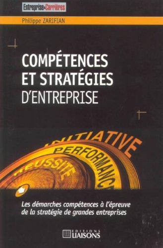 Comptences et Stratgies d'entreprise