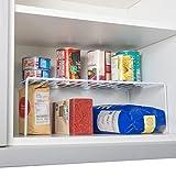 Estante para añadir de Home Treats Perfecto para ollas, sartenes, organizador de almacenamiento de casa y cocina.