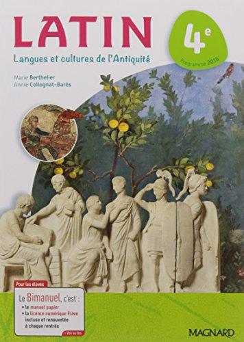 Latin 4e : Langues et cultures de l'Antiquité