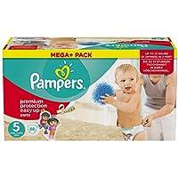 Pampers Windeln Easy up Gr. 5 Junior 12-18 kg Mega plus Pack, 1er Pack (1 x 88 Stück)