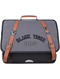 Cartable 41 Ardoise IKKS Black Tiger