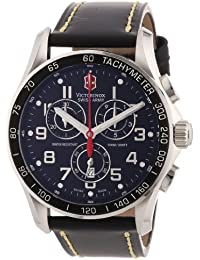Victorinox Herren-Armbanduhr XL Classic Analog Leder 241444