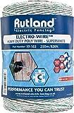 Rutland Superweißer Elektrozaun Draht, 250 m, 19-183R