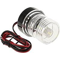 Dolity Luz de Popa Ancla Diseño Impermeable Bombilla LED 12V DC Accesorios de Automóvil