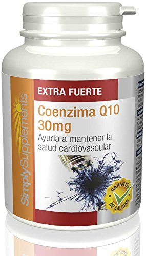 Coenzima Q10 30mg|Sostiene la salute del cuore e aiuta a
