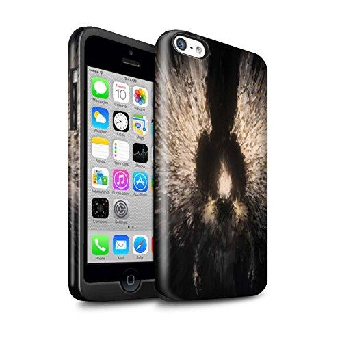 Offiziell Chris Cold Hülle / Glanz Harten Stoßfest Case für Apple iPhone 5C / Geist/Ghul Muster / Dunkle Kunst Dämon Kollektion Zeriel das Licht